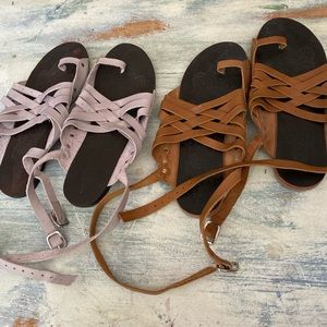 2 free people sandals